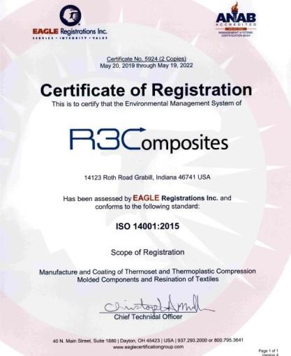 ISO/ TS certificate